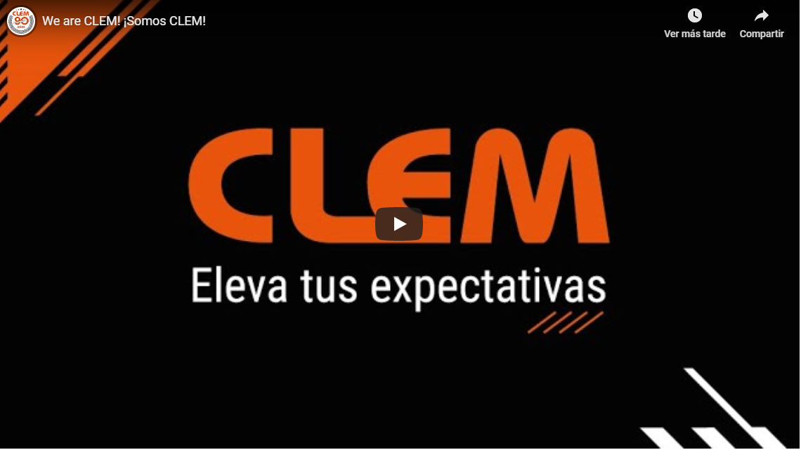 CLEM vídeo corporativo